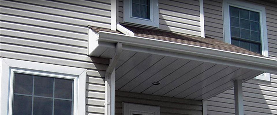 soffit & fascia renovated house